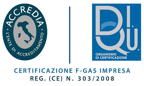 Certificazione DiQu+accredia-FGAS